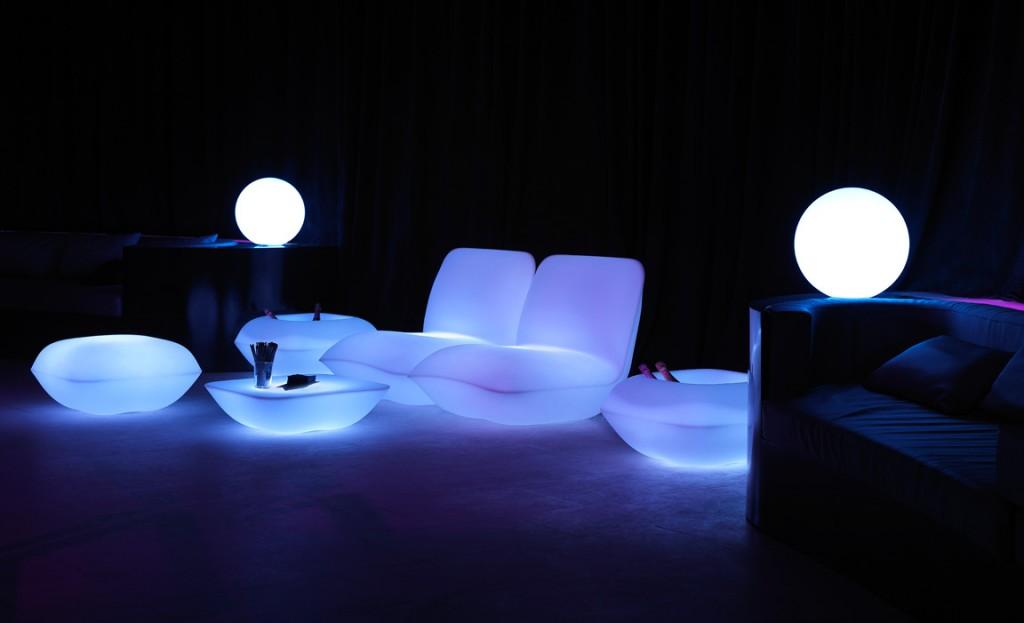 Muebles con Luz Vondom Colección Pillow