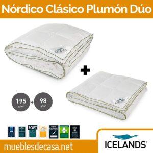 nordico plumon icelands duo cuatro estaciones