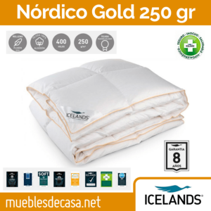 nordico plumon icelands gold