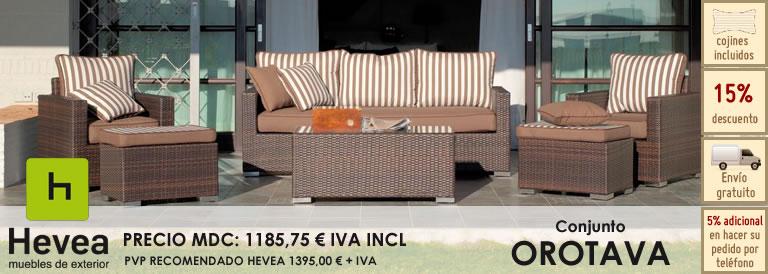 Elija Huitex: Muebles de exterior sin mantenimiento