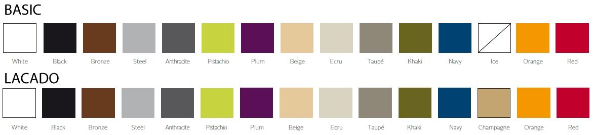 Nueva colección Wing de VONDOM Colores