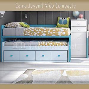 cama nido para niños