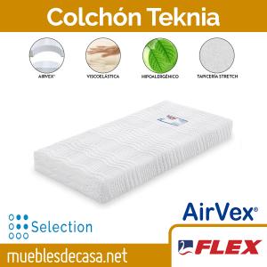 Colchón Flex Teknia Visco Articulado - MueblesdeCasa.net