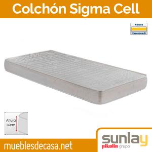Colchón Sunlay Sigma Cell - MueblesdeCasa.net