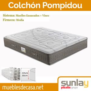 Colchón pompidouy Sunlay Pikolin colchones baratos madrid