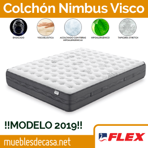 Colchón Flex Nimbus Visco Gel 2019