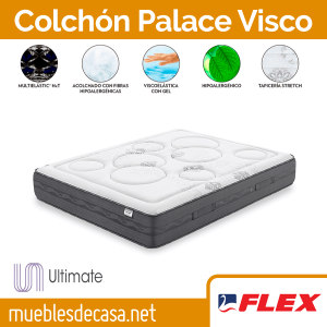 Colchón Flex Palace Visco Gel 2019