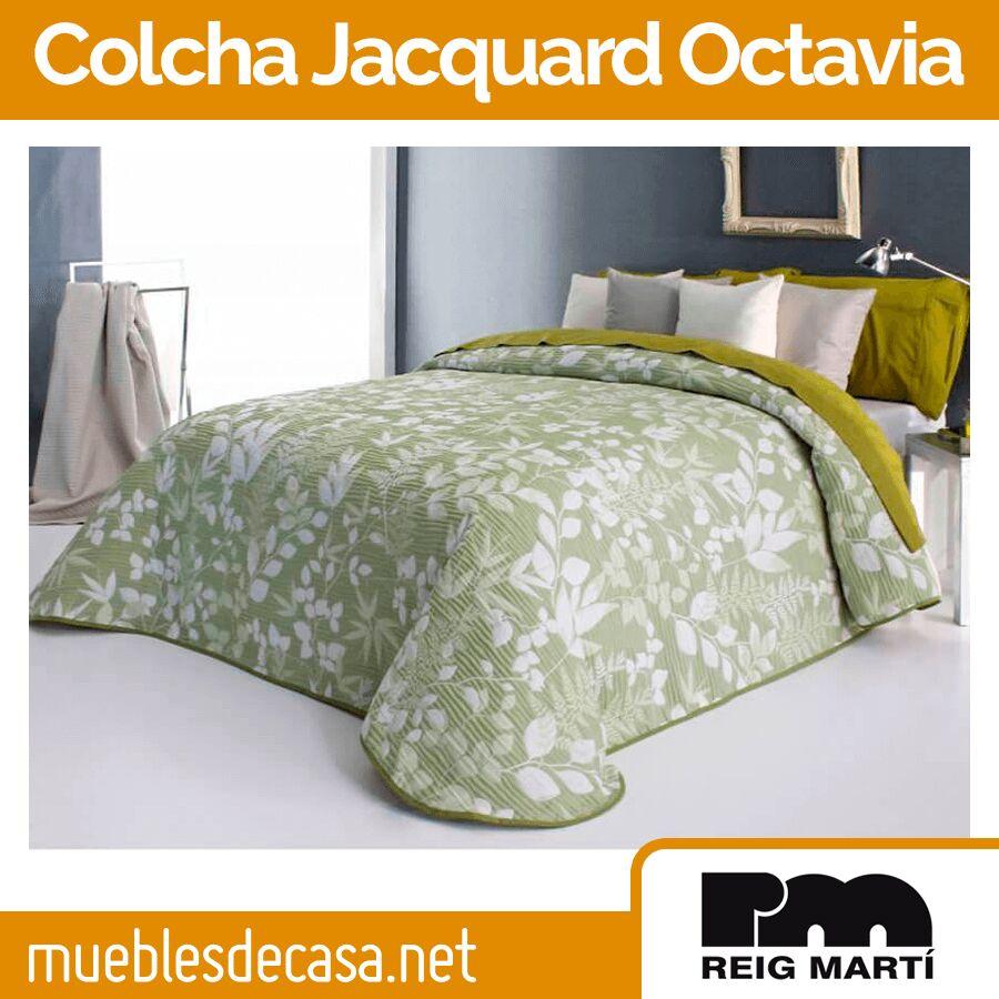 colcha tejido jacquard modelo Octavia de Reig Martí